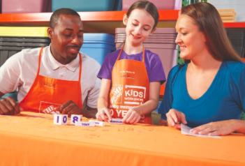 Home Depot Kids DIY Workshop - 2018 Block Calendar