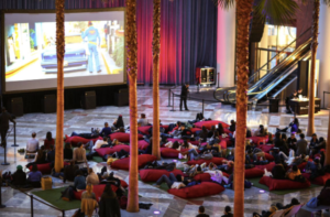 Pictures Under the Palms at Brookfield Place - FREE Indoor Film Series