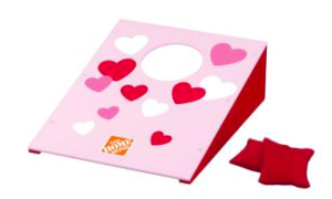 Home Depot Kids Workshop - Valentine Bean Bag Toss