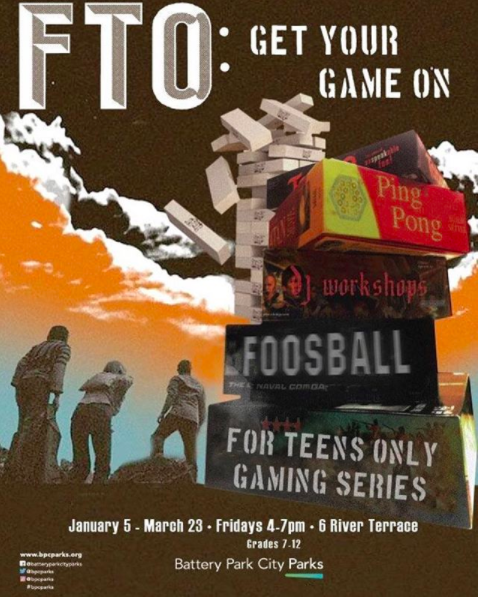 For Teens Only series: Get Your Game On!