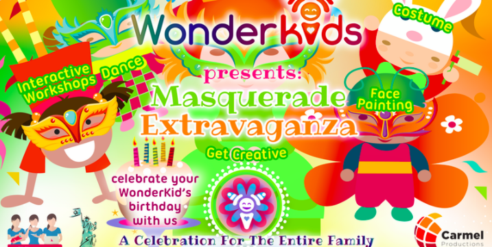 WonderKids Presents: Masquerade Extravaganza