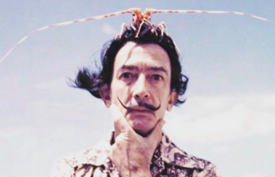 Drawing with Dali at School of Wonder in Tribeca