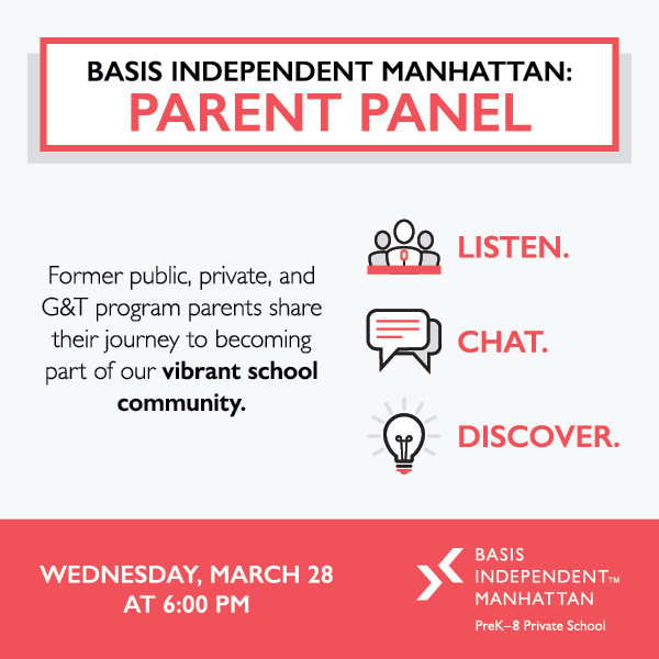An Inside Look: BASIS Independent Manhattan Parent Panel