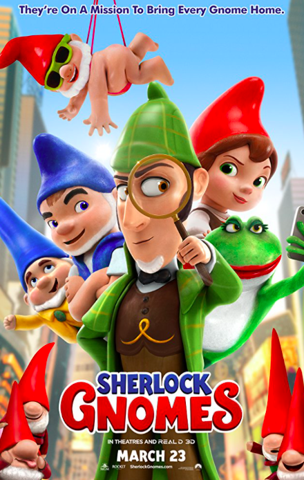 Advance Screening and FREE Tickets to Sherlock Gnomes