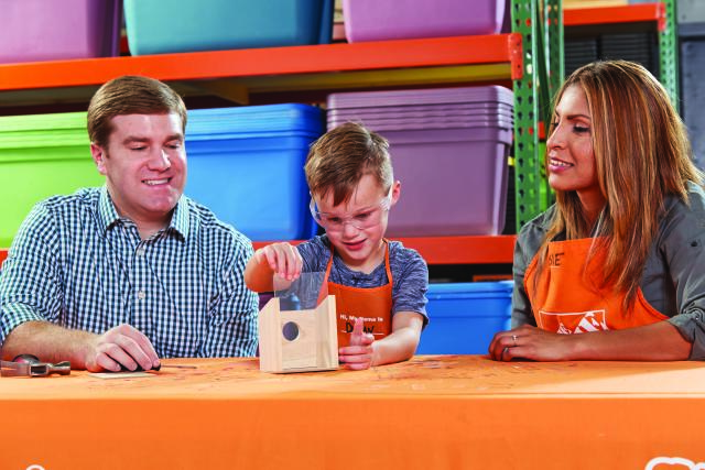 Home Depot Kids Workshop - Window Birdhouse
