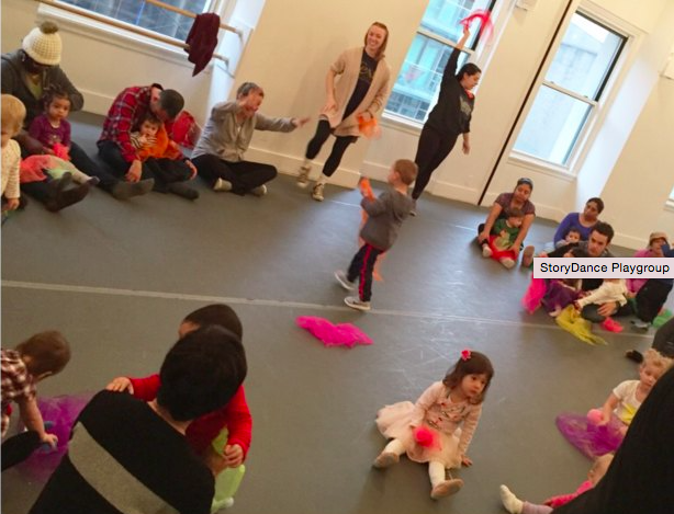 Downtown Dance Factory - StoryDance Playgroup