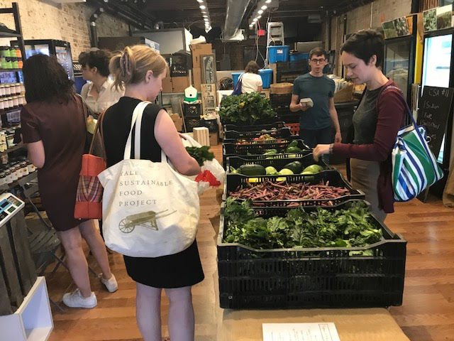 Fulton Stall Market CSA (Community Supported Agriculture) Farm Share Program at the Seaport District