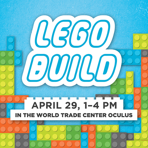 Lego Build Event with FiDi Families and Habitat for Humanity