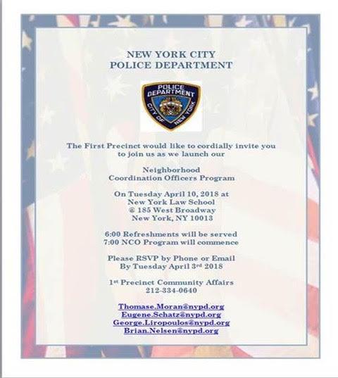 NYPD Neighborhood Coordination Officers Program