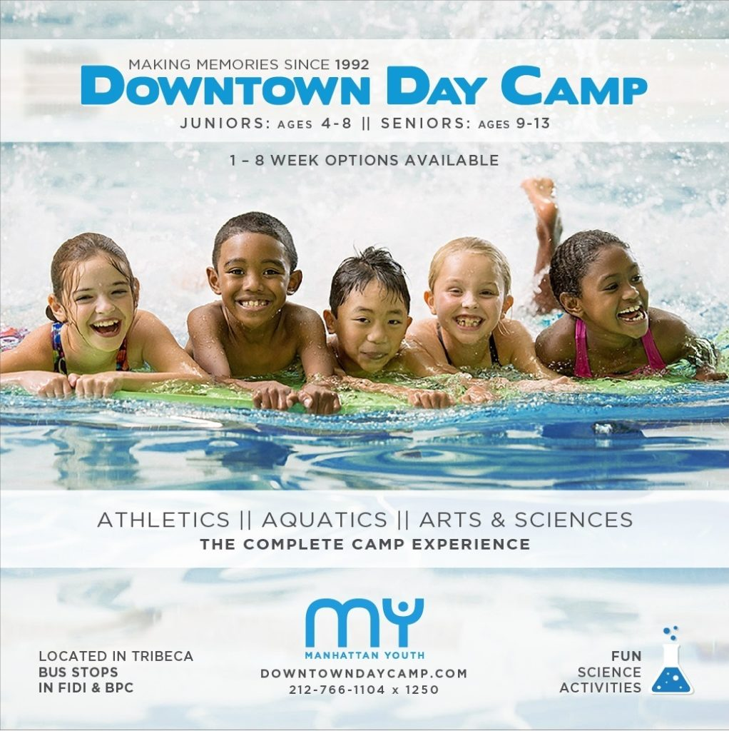 Downtown Day Camp Registration is Heating Up!