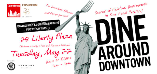 "17th Annual ""Dine Around Downtown"" in the Financial District"