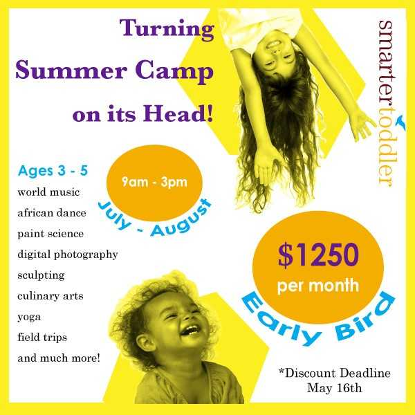 STEAM Summer Camp at Smarter Toddler