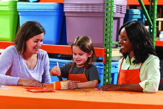 Home Depot Kid's Workshop - Classic Car