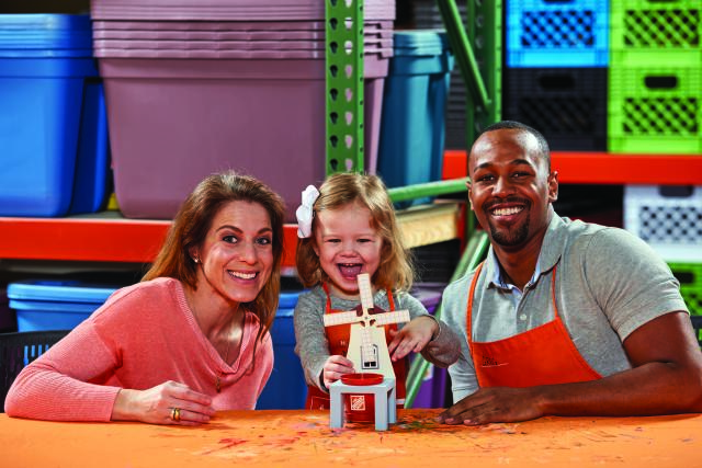 Home Depot Kid's Workshop - Windmill Planter