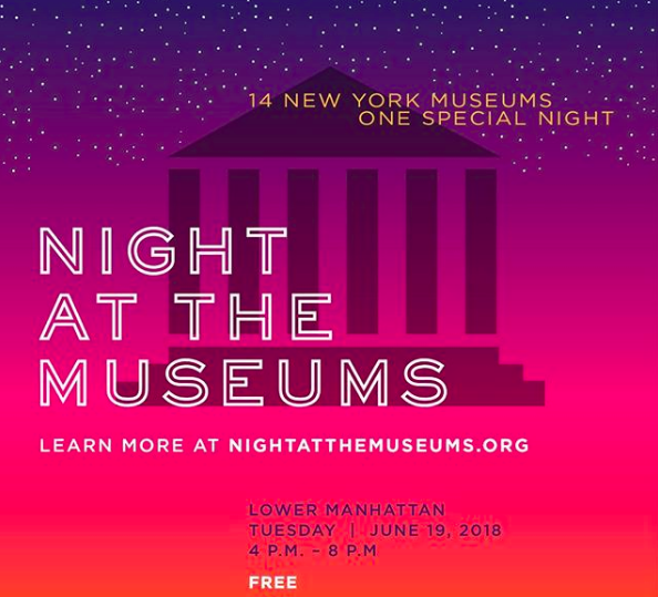 Night at the Museums Lower Manhattan Night