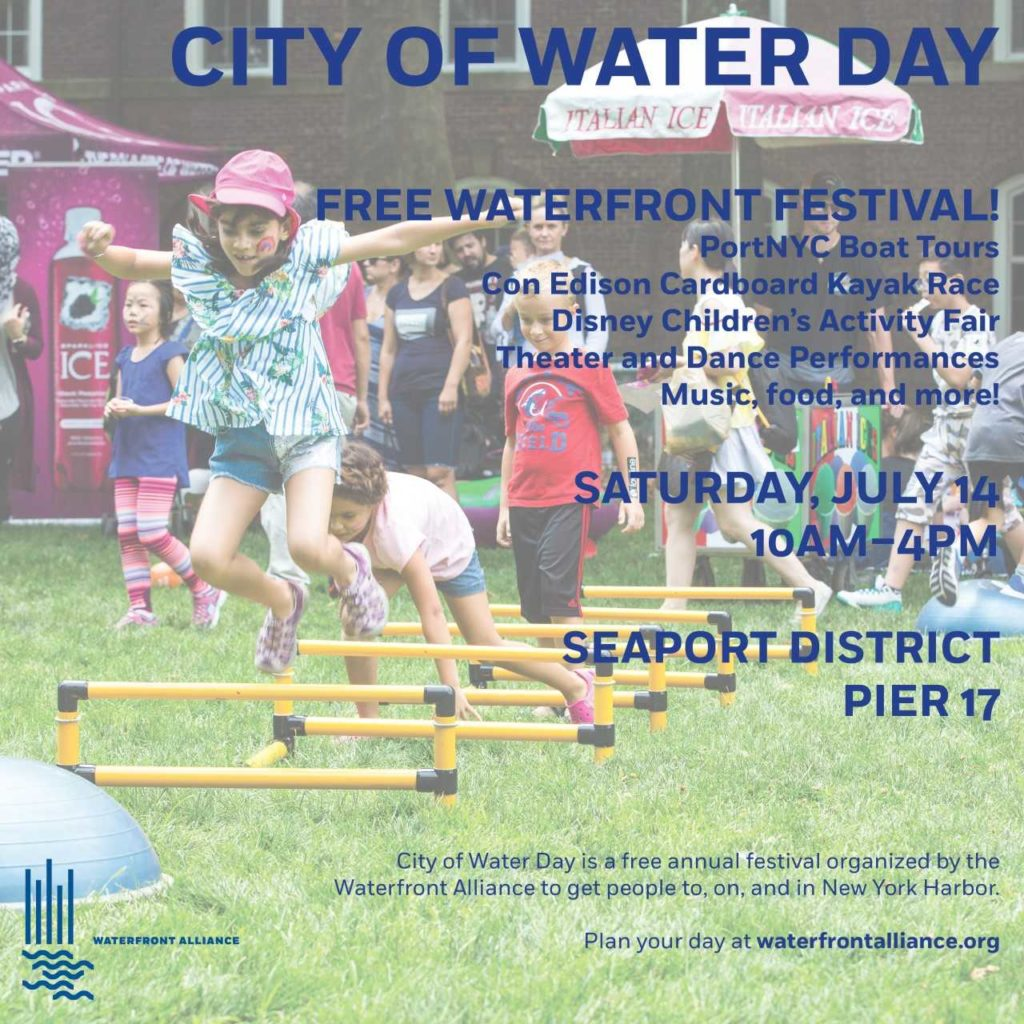 City of Water Day at the Seaport / Pier 16
