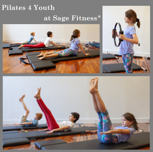 Summer at Sage Fitness: Pilates for Kids and Adults!