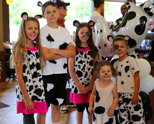 Cow Appreciation Day at Chick-fil-A Fulton Street