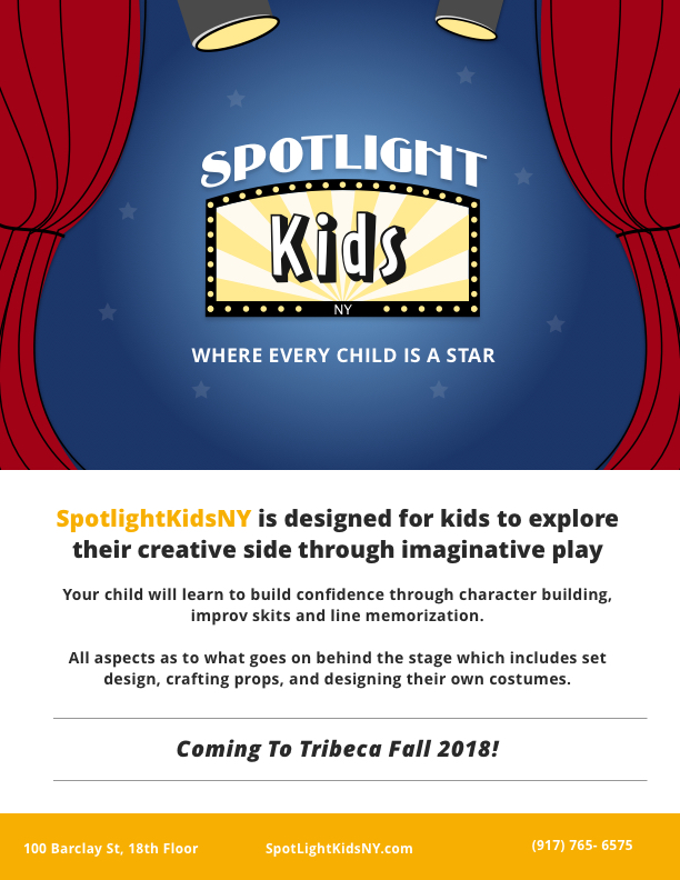 There's a New Act in Town - Spotlight Kids Improv and Theatre Company