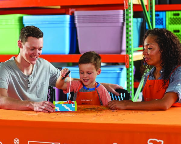 Home Depot Kid's Workshop - Fishing Game