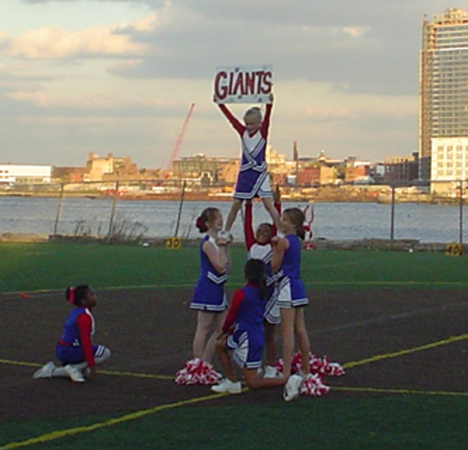 Cheerleading Registration OPEN with the Downtown Giants