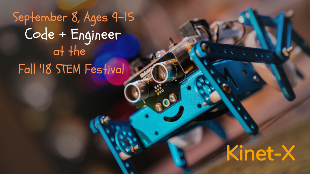 Kinet-X STEM Festival (REGISTRATION OPEN)