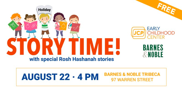 JCP Early Childhood Center Hosts a Rosh Hashanah Storytime at Barnes & Noble