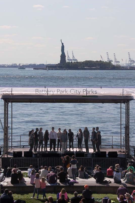 Dockappella Festival at Battery Park City