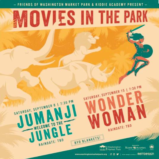 Movies in the Park at Washington Market Park