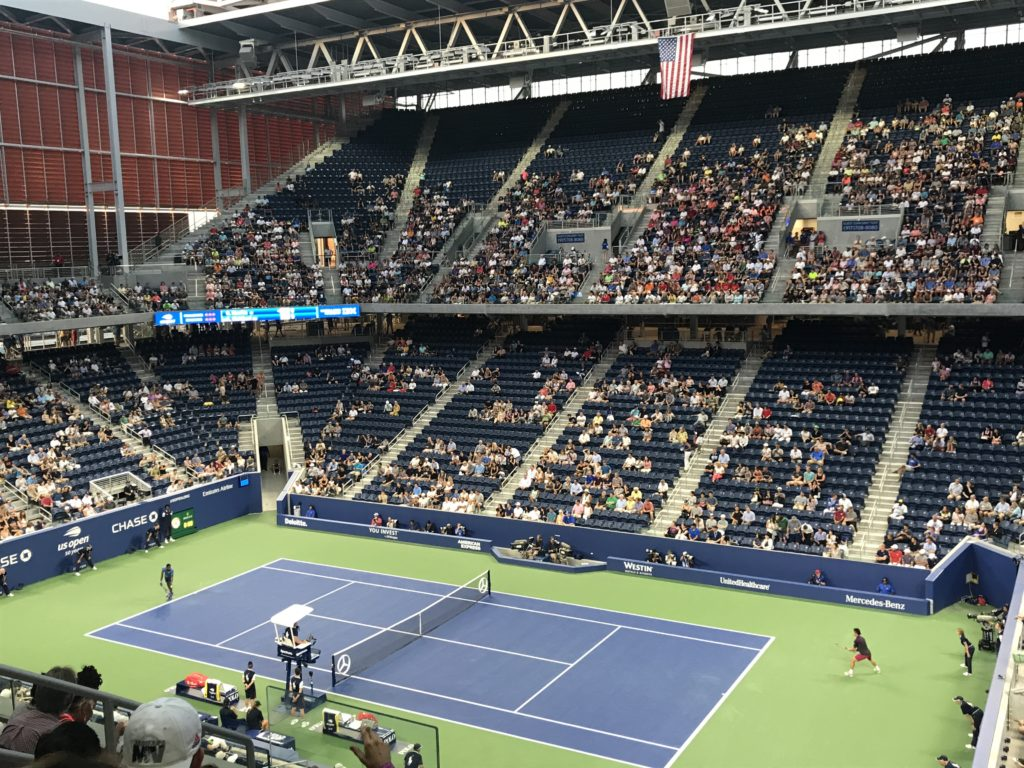 U.S. Open Tennis - Live Outdoor Viewing at 28 Liberty Hosted by Fosun