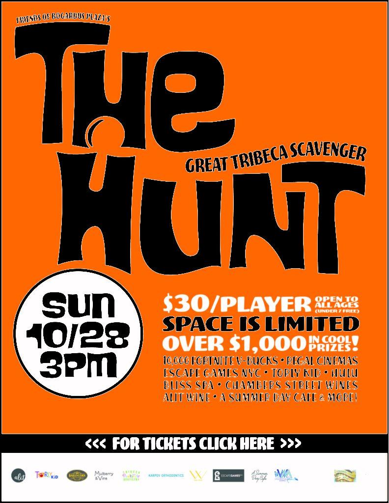 The Great Tribeca Scavenger Hunt