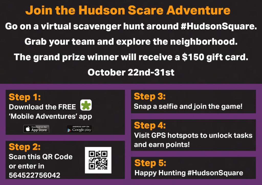 Hudson Scare Adventure - Halloween fun in Lower Manhattan