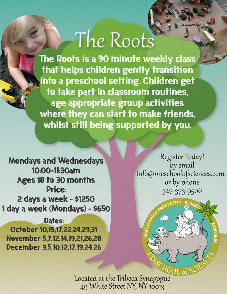 Preschool of Sciences -The Roots ***FIRST CLASS FREE TRIAL