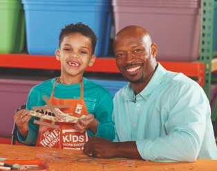 Home Depot Kids Workshop (FREE) - Veteran's Day Craft