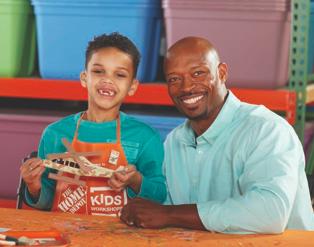 Home Depot Kids Workshop (FREE) - Veteran's Day Craft