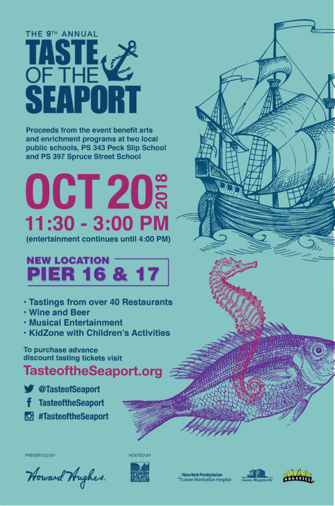 Taste of the Seaport at Pier 16 and Pier 17