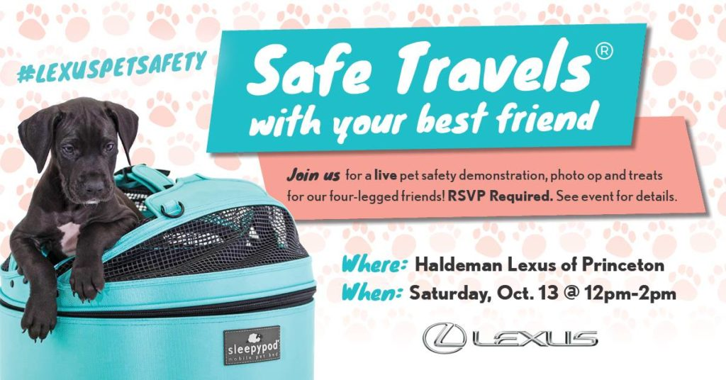 Lexus Pet Safety Event and Giveaway