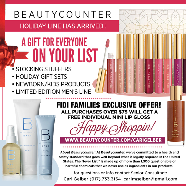 A Gift for everyone on your list - shop Beautycounter, Safer Skincare & Make Up