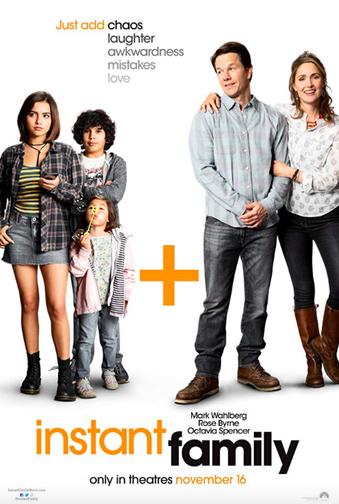 FREE Passes to an Advance Screening of Instant Family with FiDi Families!