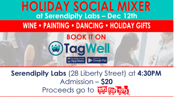 FIDI HOLIDAY SOCIAL MIXER AT 28 LIBERTY