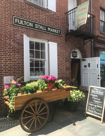 Deck the Stalls with the Fulton Stall Market