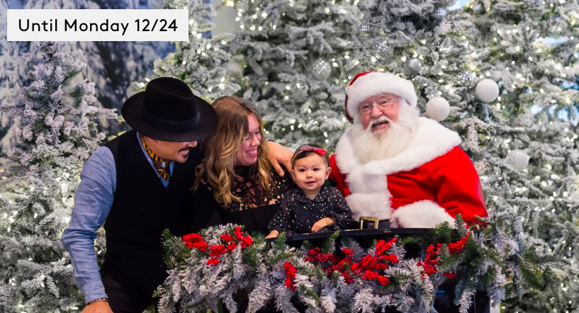 Visit with Santa at Brookfield Place through December 24th!