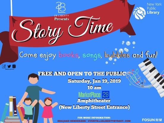 Storytime at 28 Liberty Street