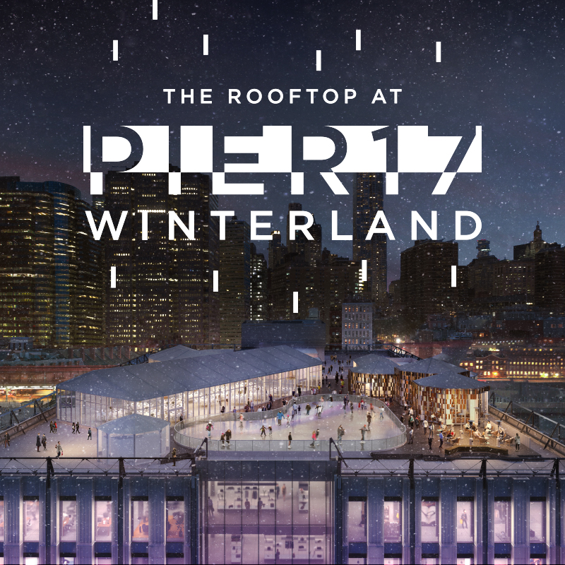 Seaport Locals Day at Pier 17 Ice Rink