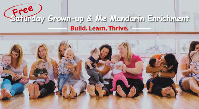 "Talent Prep Offers ""Grown-up & Me"" Mandarin Enrichment Class (FREE)"