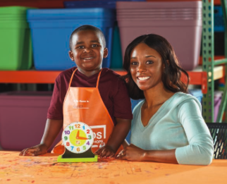 Home Depot Kids Workshop - DIY Clock Tray