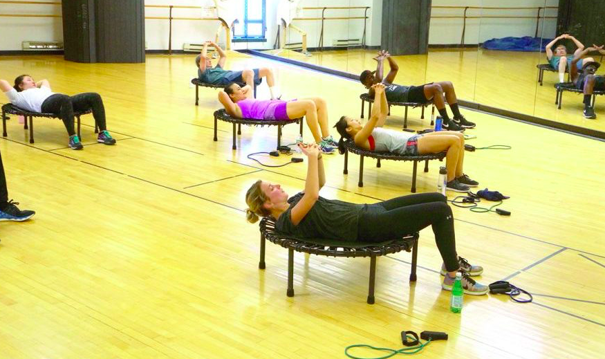 Bounce Fit Cardio Class for Downtowners