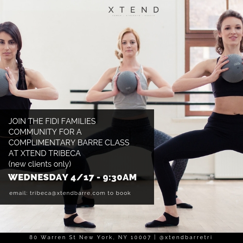 Complimentary Xtend Barre Class for First-Timers in Tribeca