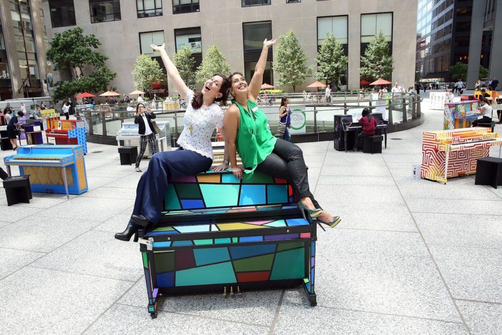 2019 Sing for Hope Pianos at Fosun Plaza at 28 Liberty