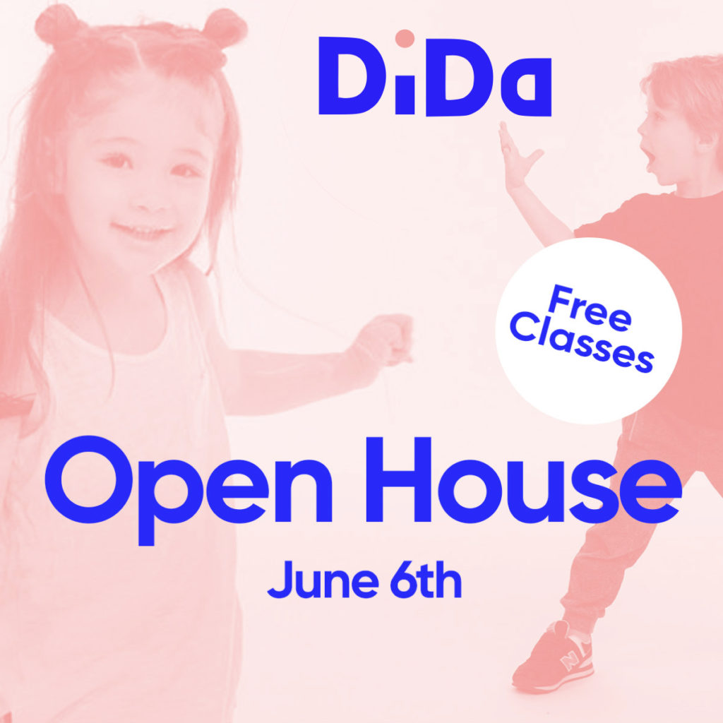 DiDa (District Dance) Open House June 6th- Free Classes!